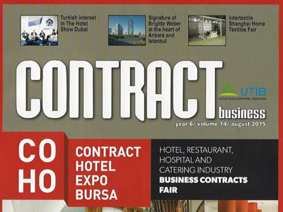 CONTRACT BUSINESS – AUGUST 2015