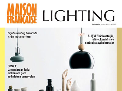 MAISON FRANCAIS LIGHTING – MAY 2018
