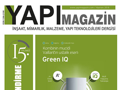 YAPI MAGAZİN – JUNE 2018