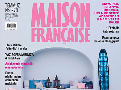 MASION FRANCAISE – JULY 2018