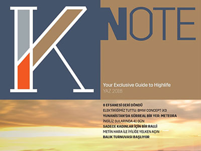 K-NOTE – JULY / AUGUST 2018