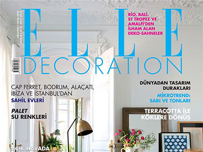 ELLE DECARATION – AUGUST / OCTOBER 2018