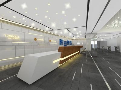 TURKCELL MALTEPE PLAZA ENTRANCE HALL