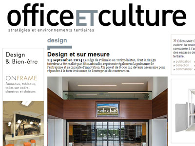 OFFICE ET CULTURE SEPTEMBER-2014